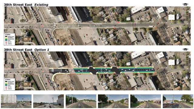 38th Street Preliminary Design
