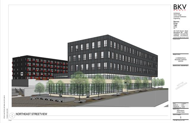 NE View - Rendering of 2225 East Lake Street