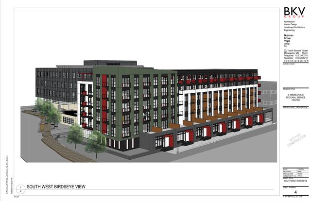 SW View - Rendering of 2225 East Lake Street