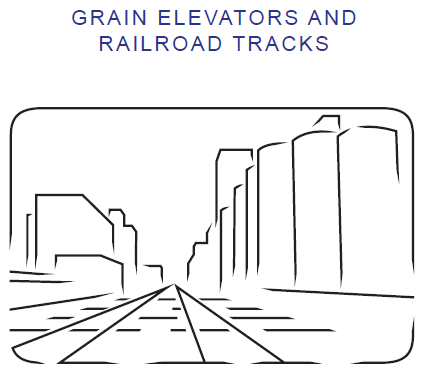 Grain Elevator and Rail Corridor