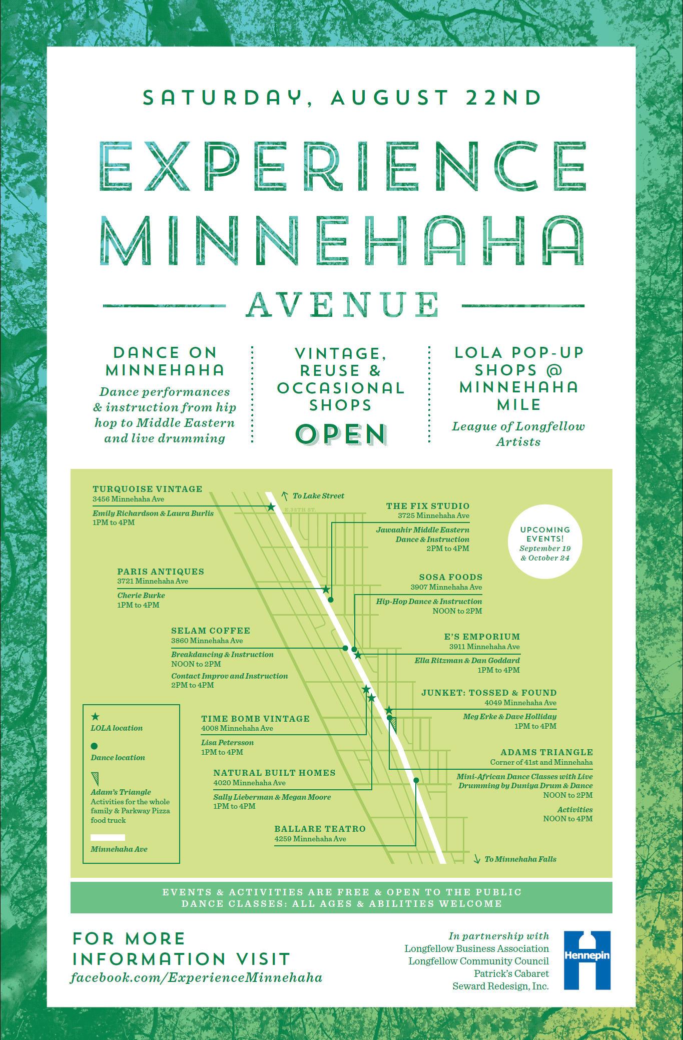 Experience Minnehaha Poster