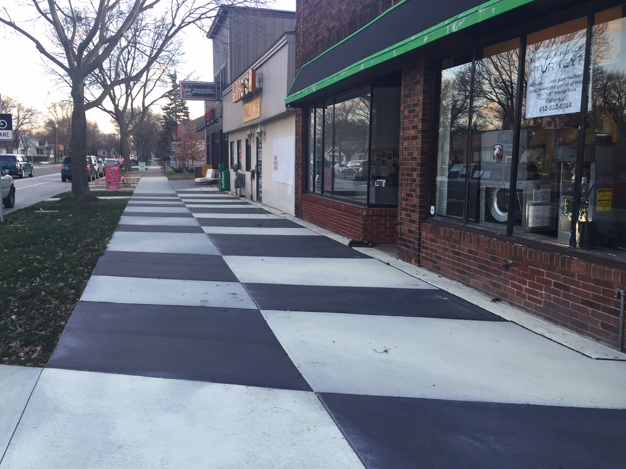 Decorative Concrete at 40th Street